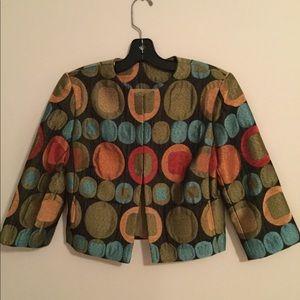 Anthracite Dot Jacket